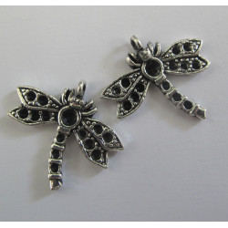 Dragonfly charms. Pack of 2