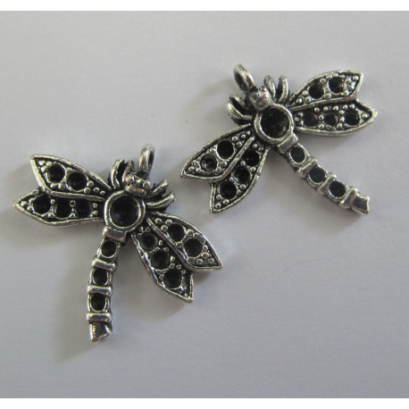 F5002 - Dragonfly Charms. Pack of 2