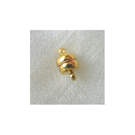 F4011G - Magnetic clasp, gold colour. Pack of 5
