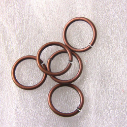 9mm jump rings. Pack of 30