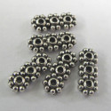 Small 3 hole spacer. Pack of 10