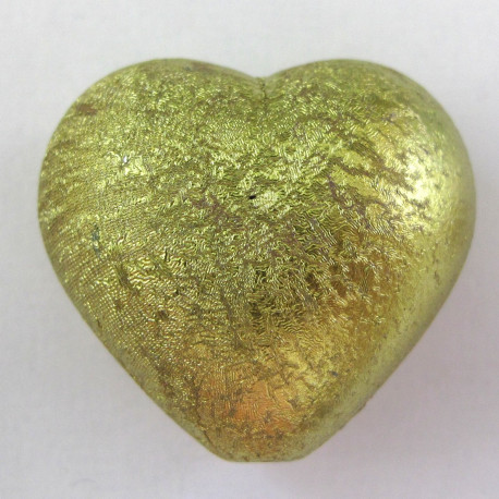 PB2551 - Large Green Heart Bead