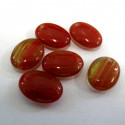 Drop shape,red/green. Pack of 10.