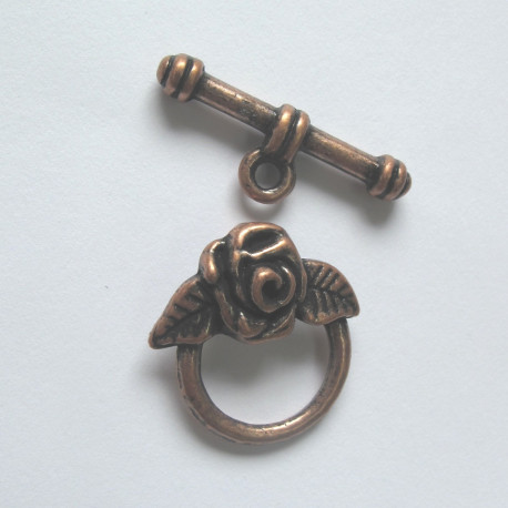 CP1000 - Rose Toggle clasp.