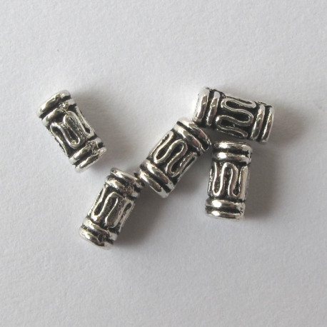 F4103 - Mini tube beads. Pack of 20