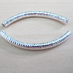 F9120 - Bracelet bar with sparkle. Per pair