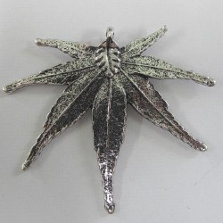 Spiky leaf. Approx 61 x 53mm