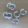 F1285 - 5mm crimp covers. Pack of 25