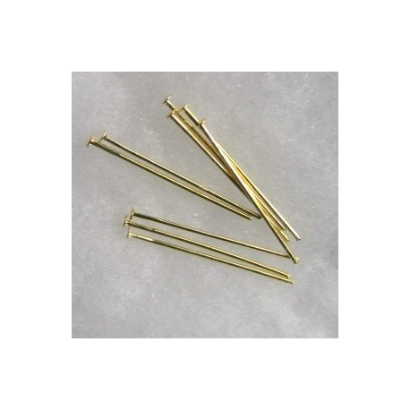 F4040G - 1 inch headpin. Pack of 50 pieces.