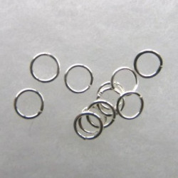 7 mm jump rings. Pack of 30